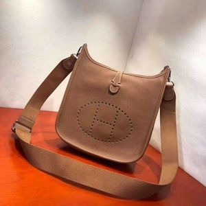 Genuine Leather hermes Shoulder bag